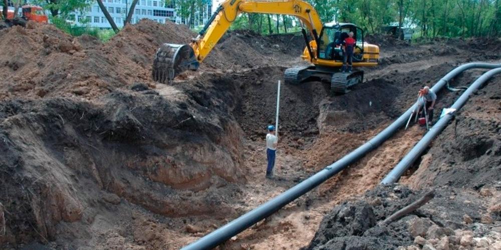 Хотите провести водопровод: заказывайте копку траншей у нас!