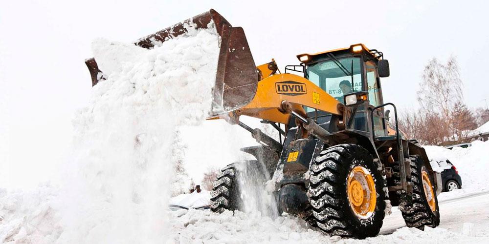 уборка снега казань