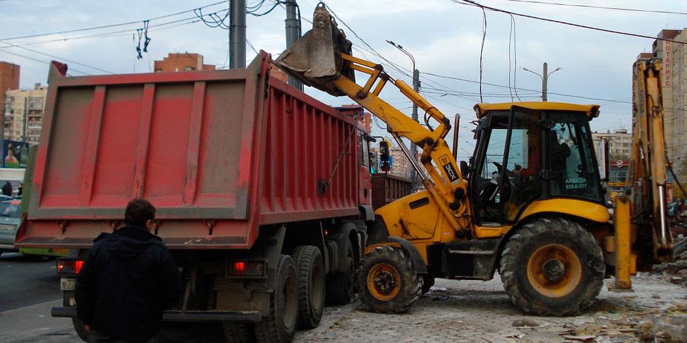 вывоз строительного мусора в Казани